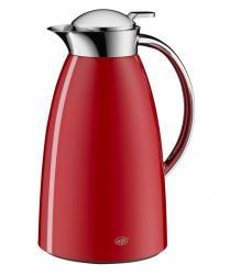 Termos Gusto red 1l filiżanka do kawy gratis