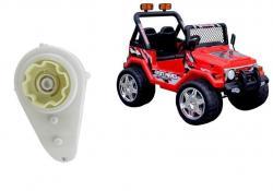 Silnik + Przekładnia do Auta na Akumulator RAPTOR