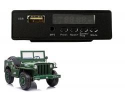 Panel muzyczny do pojazdu na akumulator JH101