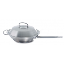 Wok z długą rączką z metal. pokrywą 4,1l Original Profi Collection®