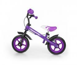 Milly Mally Rowerek biegowy Dragon z hamulcem violet