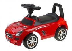 Jeździk Mercedes-Benz z Kierownicą Czerwony