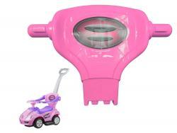 Oparcie do jeździka Coupe Megacar różowe