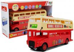 Autobus Wycieczkowy Piętrowy na Baterie Czerwony