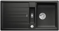 BLANCO LEXA 5 S Silgranit PuraDur Antracyt odwracalny, korek auto., InFino