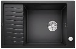 BLANCO ELON XL 6 S-F Silgranit PuraDur Antracyt odwracalny, korek auto., InFino, kratka ociekowa
