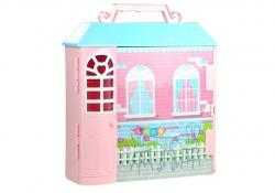 Garderoba Domek dla Lalki z Kolorowymi Sukienkami