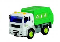 Auto Plastikowe Śmieciarka Ruchome Elementy
