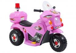 Motor na akumulator LL999 Różowy