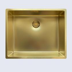 Reginox New York 50x40 złoto GOLD FLAX zlewozmywak stalowy