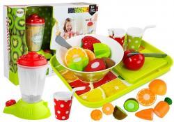 Zestaw Warzyw i Owoców z Blenderem na Baterie i Tacką