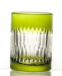 Szklanki kolorowe kryształowe do kawy 6 sztuk (08606)