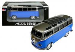 Autobus Resorak T1 z napędem Niebieski