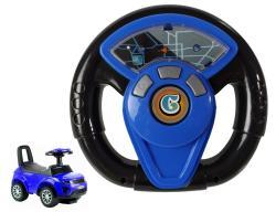 Kierownica do jeździka 613W/614W niebieska