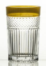 Szklanki kolorowe kryształowe do herbaty 6 sztuk (14780)