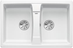 BLANCO LEXA 8 Silgranit PuraDur Biały odwracalny, InFino