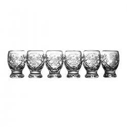 Kieliszki grawerowane do wódki kryształowe orzeł 06088