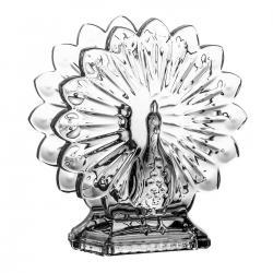 Serwetnik paw kryształowy dekoracyjny (05887)
