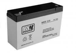 Akumular żelowy do auta na akumulator 6V12Ah