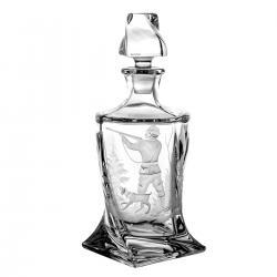Karafka do whisky grawer myśliwski 3200
