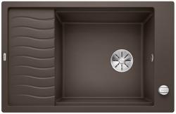 BLANCO ELON XL 6 S Silgranit PuraDur Kawowy odwracalny, korek auto., InFino, kratka ociekowa