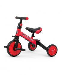 Milly Mally Rowerek 3w1 Optimus Red