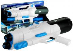 Duży Ogrodowy Pistolet Na Wodę Broń Lekki Biały
