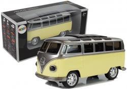 Autobus Resorak z napędem i dźwiękiem Żółty