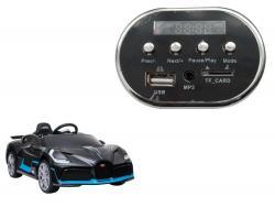 Panel muzyczny do pojazdu HL338 Bugatti Divo
