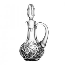 Karafka kryształowa na olej ocet 3860