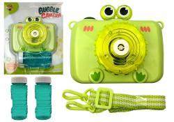 Aparat puszcza Bańki mydlane na Baterie Zielony
