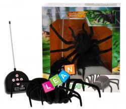 Duży włochaty pająk zdalnie sterowany Czarna Wdowa