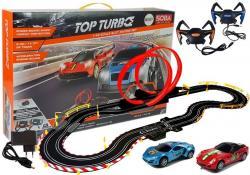 Tor Wyścigowy 1:43 2 Autka Kontrolery Top Turbo 540 cm długości