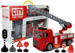 Straż Pożarna Znaki Drogowe Sygnalizacja Świetlna Napęd Frykcyjny Dźwięk Efekty Świetlne
