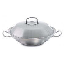 Wok z metal. pokrywą 4,1l. 30cm Original Profi Collection®