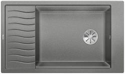 BLANCO ELON XL 8 S Silgranit PuraDur Alumetalik odwracalny, InFino, kratka ociekowa
