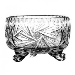 Owocarka kryształowa na nóżkach 02403