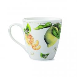 "Marjolein Bastin Kubek porcelanowy XL 176302 ""owoce - cytryna"""