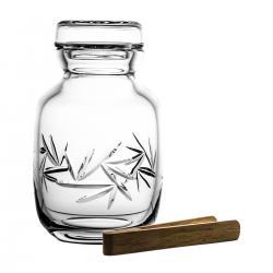 Słoik kryształowy pojemnik 1 litr Kultowe Formy 8164