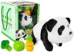 Panda Na Baterie Rusza Się Warzywa na Rzepy