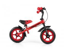 Milly Mally Rowerek biegowy Dragon z hamulcem red