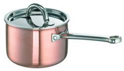 SCHULTE-UFER Rondel DeLuxe miedziany 2 litry 16cm 9520-16i - dostawa GRATIS