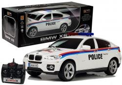Auto Zdalnie Sterowane BMW X6 Policja R/C