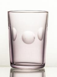 Szklanki kolorowe kryształowe do kawy 6 sztuk