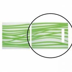 SCHOCK Deska szklana Horizon Zielono biała z rączką - DOSTAWA GRATIS