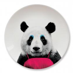 Talerz ceramiczny obiadowy PANDA duży