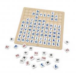 Viga 44510 Tabliczka edukacyjna - matematyka i alfabet