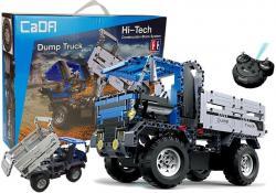 Ciężarówka Wywrotka 2w1 Zdalnie Sterowany z klocków 2.4G 638 elementów C51017W
