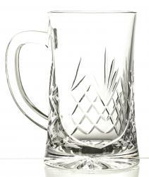 Kufel do piwa kryształowy z wolnym polem pod grawer (05966)
