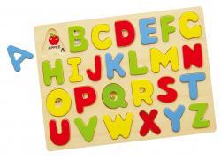Viga 58543 Puzzle układanka na podkładce - alfabet